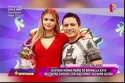 Brunella Horna asegura que Richard Acuña se lleva de maravilla con su familia