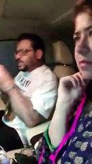 Nadia Khattak Talks With Aamir Liaquat.