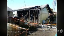 Fire Damage - How a Public Adjuster can help to Settle Fire Insurance Claims