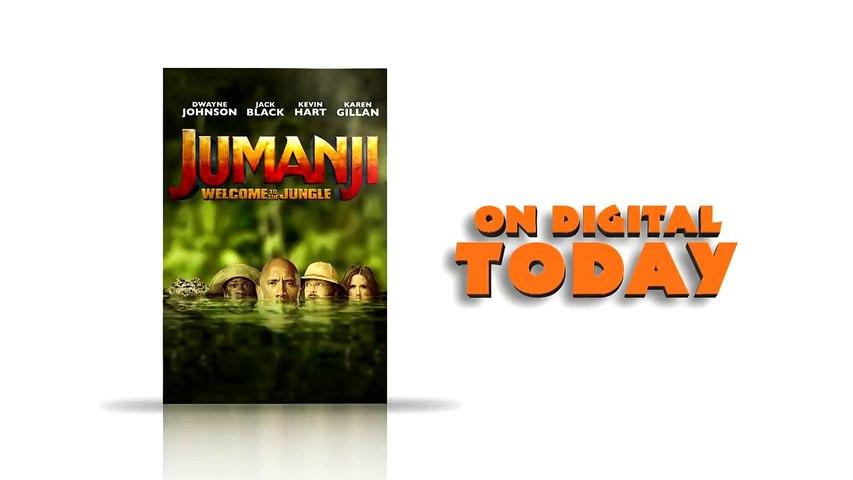 JUMANJI_ WELCOME TO THE JUNGLE - Now on Digital [720p]