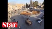 Terör örgütü DEAŞ�ın tankçısı yakalandı