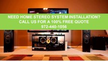 High End Home Theater Systems Near Me Dallas Tx 972-440-1056