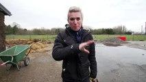 BRITT SKIET ACHTER EEN PAARD⛷   PaardenpraatTV