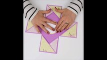 DIY Mother's Day Gift - DIY Explosion Box Card - Paper Crafts Gift Ideas