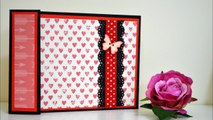 How to make a Mini Accordion Album - DIY Card - Paper Crafts Gift Ideas