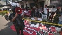 Protestas en Indonesia contra la ejecución de un nacional en Arabia Saudí