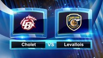 Avant match avec Maxime Roos, Cholet Basket - Levallois Metropolitans
