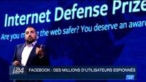 Facebook : des millions d'utilisateurs espionnés
