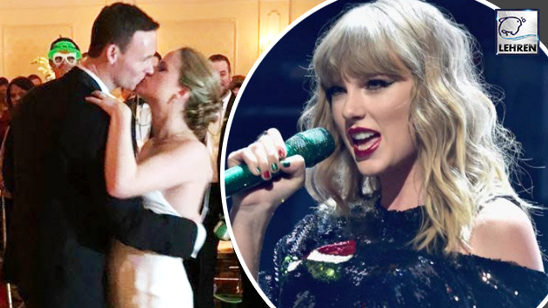 Taylor Swift Surprises The Bride & Groom At Their Wedding In An Epic Way
