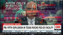 James Gagliano speaks on FBI: Fifth Explosion in Texas Rocks Fed-Ex Facility. #Texas #Austin #CNN #FoxNews #ABC #NBC #BreakingNews #Breaking