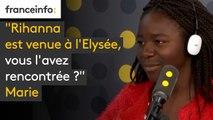 """""""Rihanna est venue à l'Elysée, vous l'avez rencontrée ?"""" : Jean-Michel Blanquer interrogé par des collégiens"""