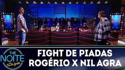 Fight de piadas Rogério Morgado x Nil Agra