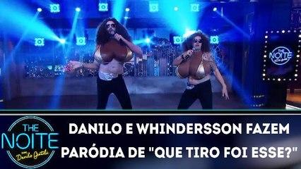 """Danilo e Whindersson fazem paródia de """"Que tiro foi esse?"""""""