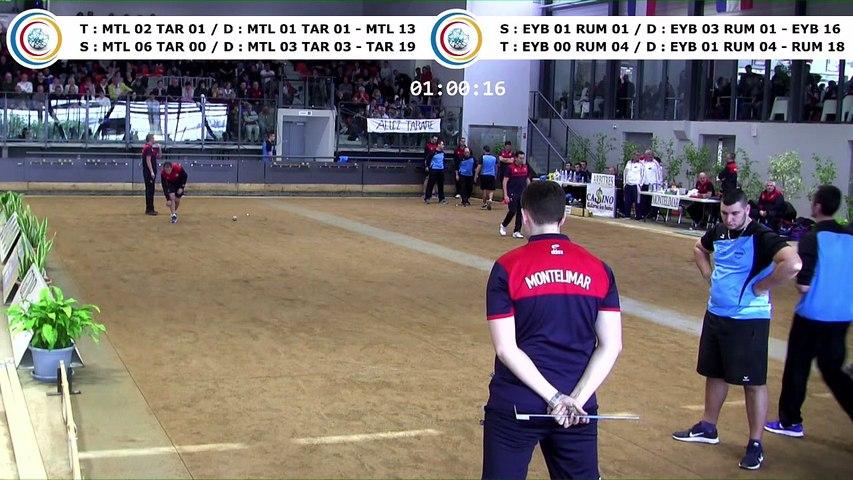 Quatrième tour, finale Elite 2 Montélimar contre Tarare et finale National 3 Eybens contre Rumilly, France Clubs 2018, Balaruc-les-Bains 2018