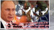 World War 3 FEARS: Military expert warns UK is at 'real risk of WAR' with Russia and Putin