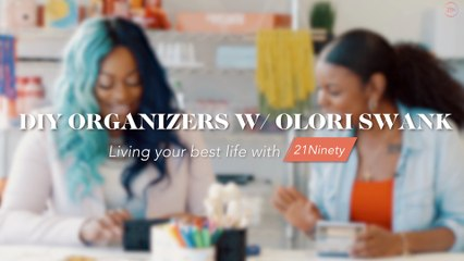 DIY Desk Organizers w/ Olori Swank