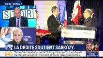 """Garde à vue de Nicolas Sarkozy: """"Je trouve ça étonnant, il ne s'est jamais dérobé à la justice"""", Nadine Morano"""