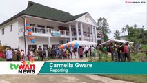 The two newly-opened government buildings in New Ireland Province cost about K6 million.Governor Sir Julius Chan said the two buildings took almost 3-and-a-ha