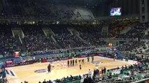 Παναθηναϊκός Superfoods - Ερυθρός Αστέρας | Αποδοκιμασίες στον ύμνο της Euroleague