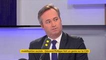 """Hausse de la CSG : """"La mesure, nous l'assumons totalement. Une bonne partie des retraités en sont exonérés"""", explique Jean-Baptiste Lemoyne, secrétaire d'État auprès du ministre de l'Europe et des Affaires étrangères #TEP"""