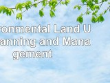 Environmental Land Use Planning and Management a199a65c