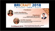 BRI CRAFT 2018 - HARI PERTAMA SESION 1