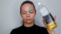 PENCIL PIERCED NOSE - Easy & Simple SFX Halloween Makeup Look