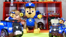 Paw Patrol Mission Chase toy, Paw Patrol Spy Chase toy and Paw Patrol Chase Deluxe Cruiser