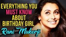 Did You Know Rani Is A Trained Odissi Dancer? Rani Mukherji Birthday Special | Things You Must Know