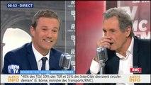 """Dupont-Aignan: """"Je ne comprends pas Wauquiez qui parle plus dur que Le Pen mais ne veut pas la voir"""""""
