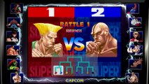 Street Fighter 30th Anniversary Collection - Bande-annonce du mode tournoi local (Switch)