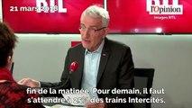 Grève SNCF: Guillaume Pepy annonce 50% des TER en circulation et 40% des TGV