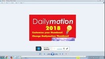 How to Upload and adjust your Dailymotion Channel Banner ,Banner change,dailymotion banner change