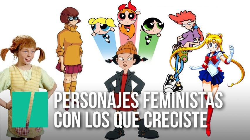 Personajes feministas con los que creciste