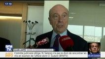 """Alain Juppé fait """"confiance à Nicolas Sarkozy pour apporter les preuves de son innocence"""""""