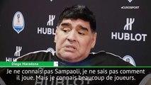 Diego Maradona et les chances de l'Argentine en Coupe du monde