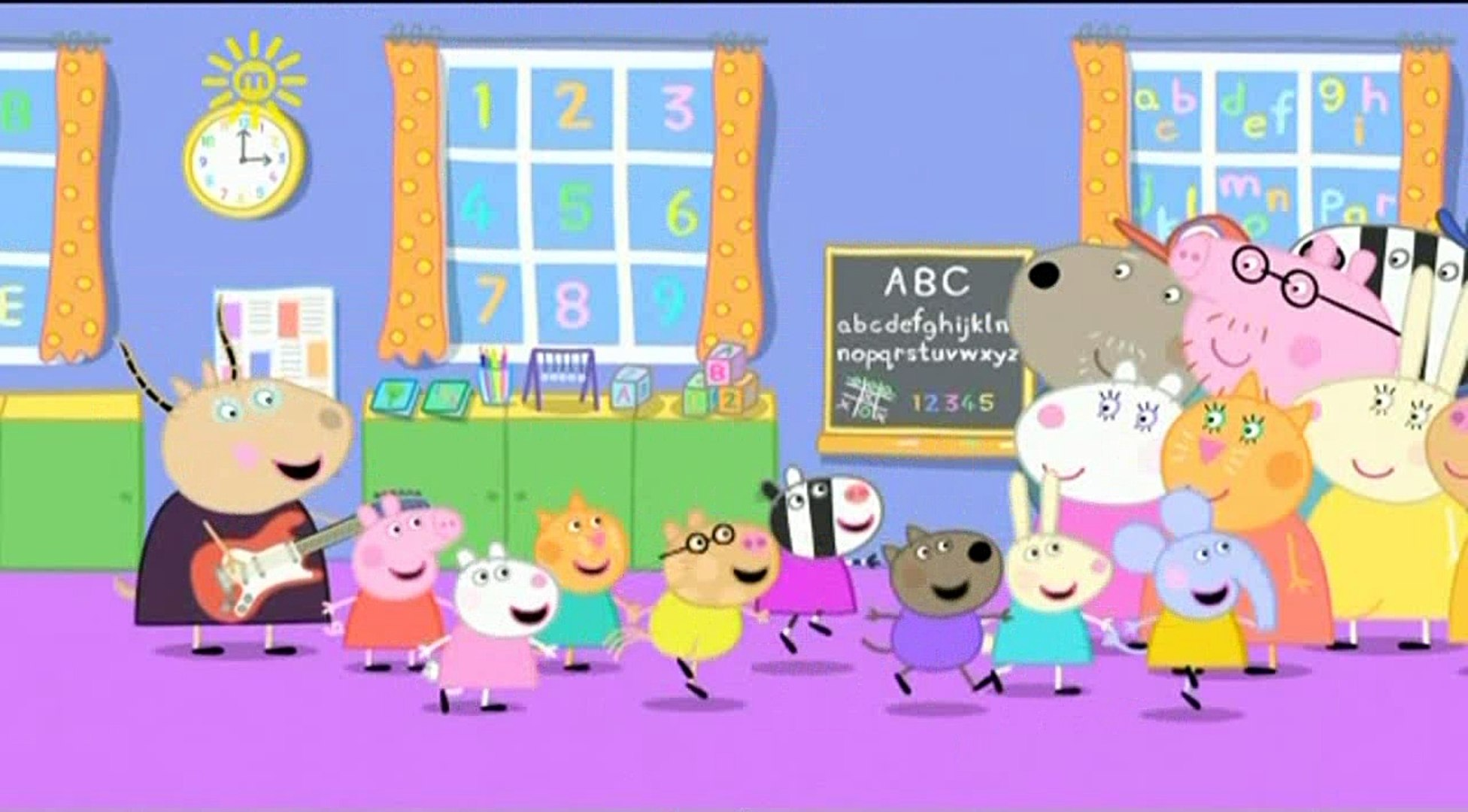 Peppa Pig Talent Day Video Dailymotion