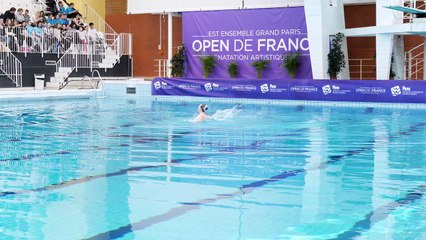 Solos libres Open de France de natation artistique - FINA World Séries 2018