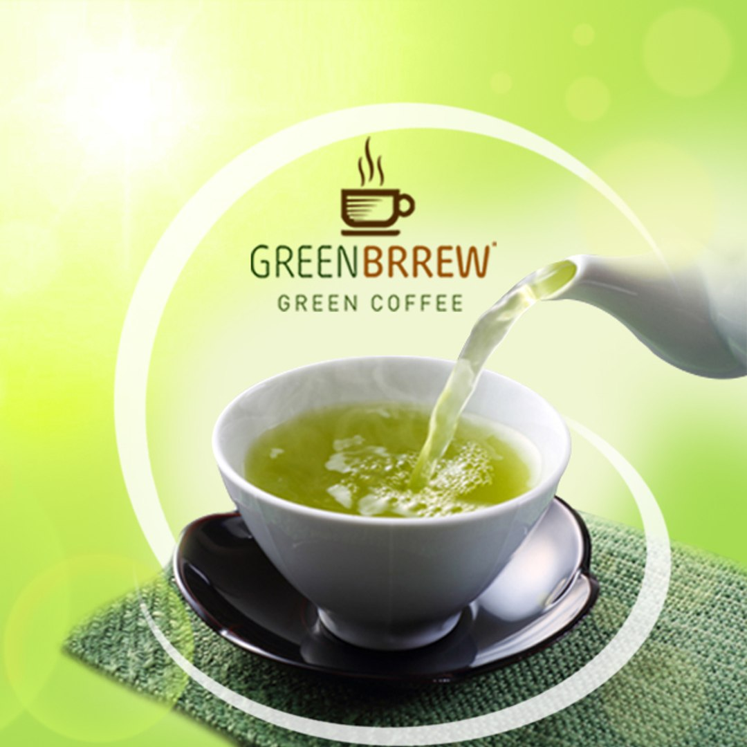 Greenbrrew Green Coffee Beans Extract Tea Coffee Weight Loss