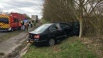Accident sur la RN 12 : un blessé près de Mortagne-au-Perche