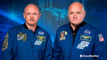 Can space travel affect your DNA?  NASA releases test results of twins and astronauts Mark and Scott Kelly