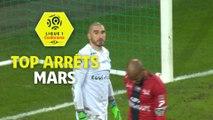 Top arrêts Ligue 1 Conforama - Mars (saison 2017/2018)