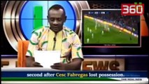 Prezantuesi qesharak nuk arrin dot të shqiptojë emrat e lojtarëve të njohur të futbollit (360video)
