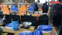 Surzur (56). Battle de cuisine entre le RC Vannes et le FC Lorient