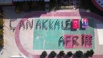 """Öğrenciler, """"Çanakkale ve Afrin Zaferi"""" Anısına Klip Hazırladı"""