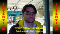 Hockey sur glace 2018-03-17 Interview Pierre Emmanuel Danger Président du SOC - Hockey Chambéry