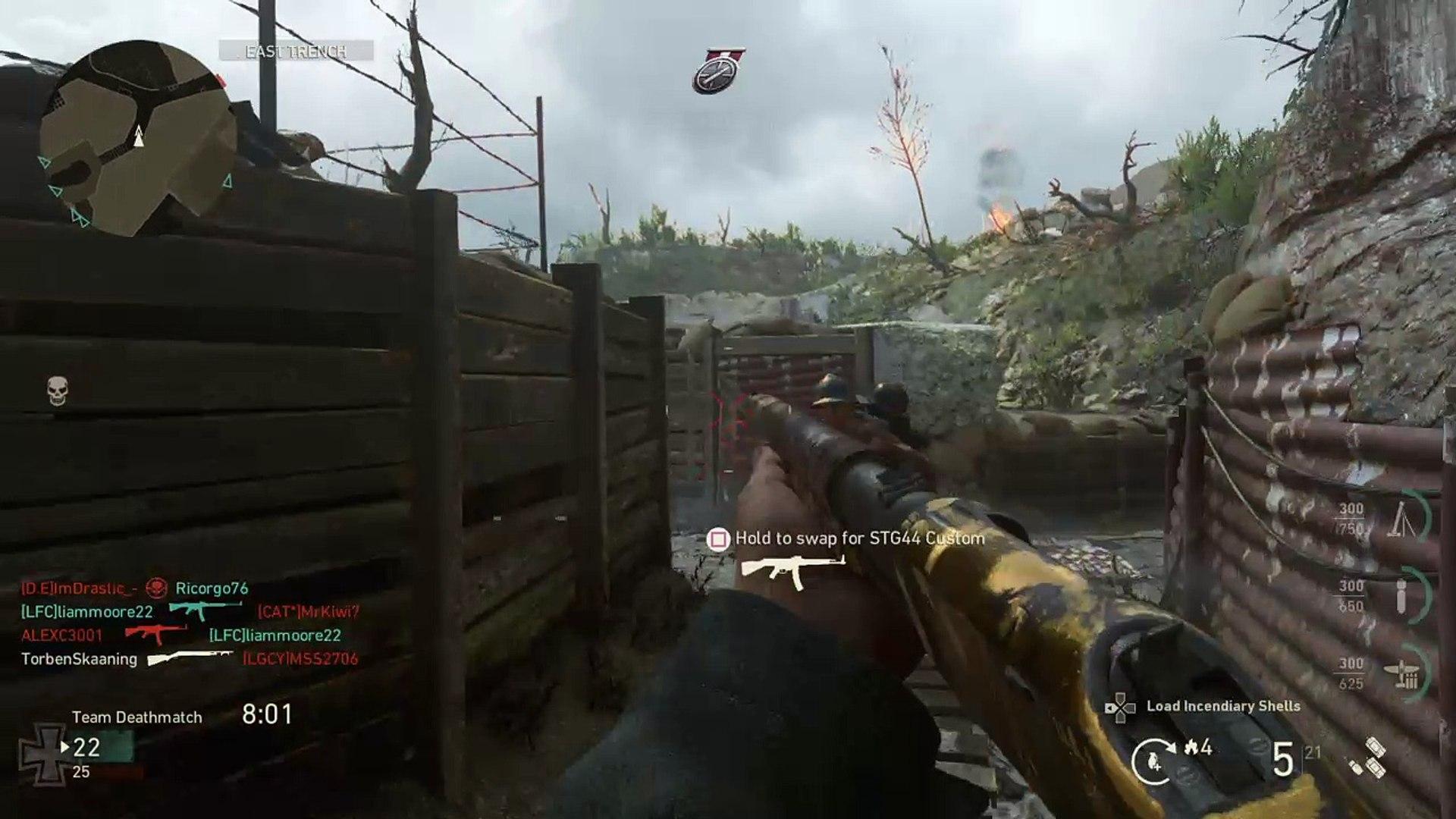 Grenade Returned COD WW2