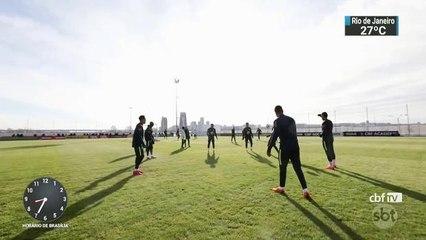 Amistosos na Rússia fazem parte do plano para adaptar jogadores ao país