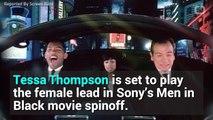 Tessa Thompson & Chris Hemsworth Reunite in Men In Black Spinoff