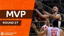 Turkish Airlines EuroLeague Regular Season Round 27 MVP: Nick Calathes, Panathinaikos Superfoods Athens